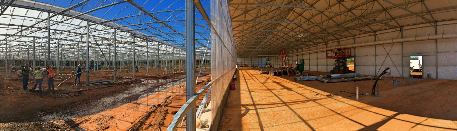 Controlled Agriculture Facility Building